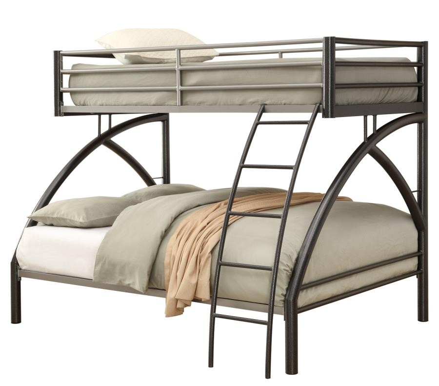 Stephan Bunk Bed Twin Over Full Metal Bunk Bed 460079