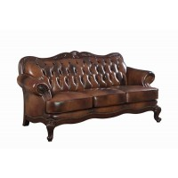 VICTORIA COLLECTION - Victoria Traditional Tri-Tone Sofa