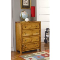 WRANGLE HILL COLLECTION - 4 DRAWER CHEST