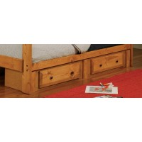 WRANGLE HILL COLLECTION - Wrangle Hill Amber Wash Underbed Storage