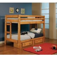 WRANGLE HILL COLLECTION - Wrangle Hill Trundle with Bunkie Mattress