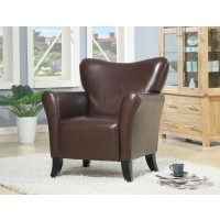 ACCENTS : CHAIRS - Casual Brown Accent Chair