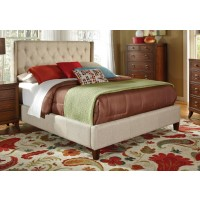 Owen Upholstered Bed - EASTERN KING BED