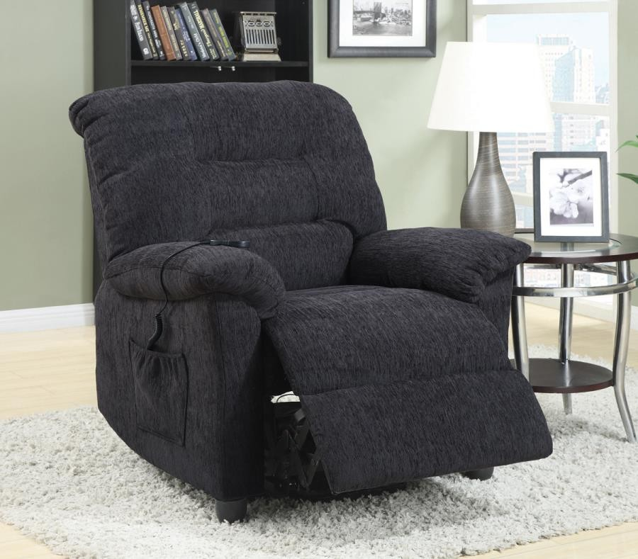 Admirable Living Room Power Lift Recliner Casual Dark Grey Power Lift Recliner Onthecornerstone Fun Painted Chair Ideas Images Onthecornerstoneorg