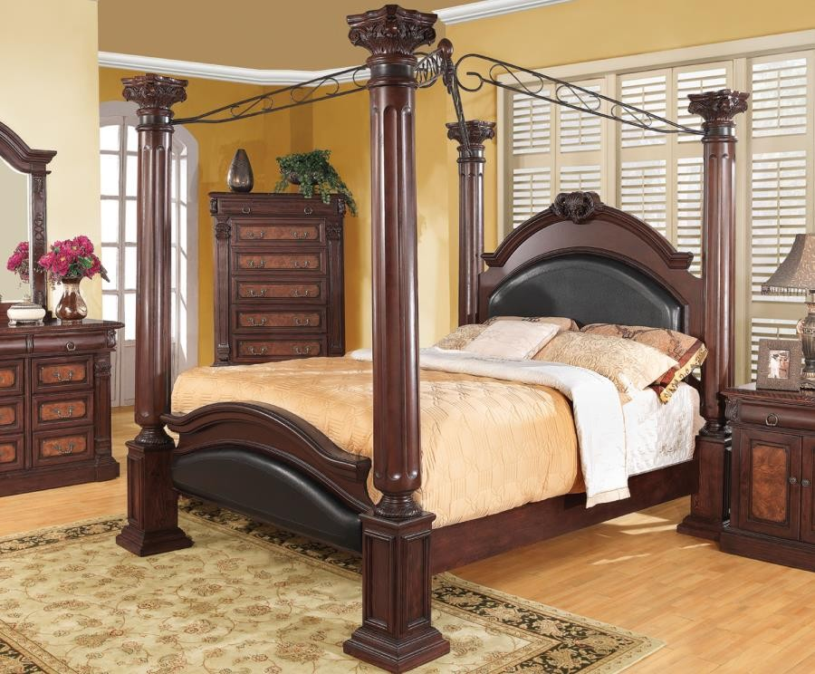 Grand Prado Collection Cal King Bed 202201kw Complete Bed Sets