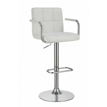 REC ROOM/BAR STOOLS: HEIGHT ADJUSTABLE - ADJUSTABLE BAR STOOL