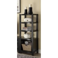 LIVING ROOM : TV CONSOLES - Contemporary Cappuccino Media Tower