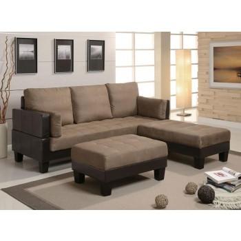 ELLESMERE COLLECTION - Ellesmere Contemporary Tan Sofa Bed