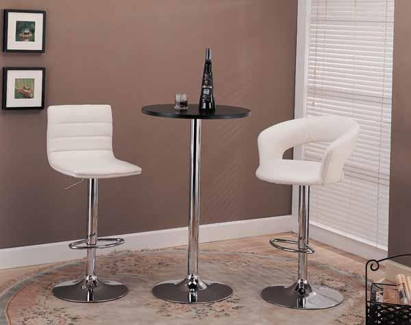 BAR STOOLS: HEIGHT ADJUSTABLE.  - ADJUSTABLE BAR STOOL (Pack of 2)