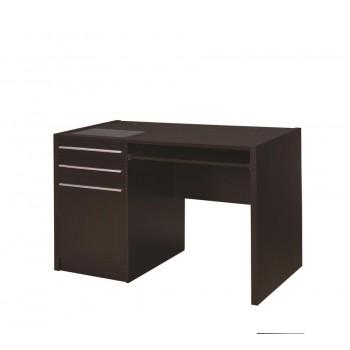 HALSTON DESK - Contemporary Cappuccino Connect-It Computer Desk