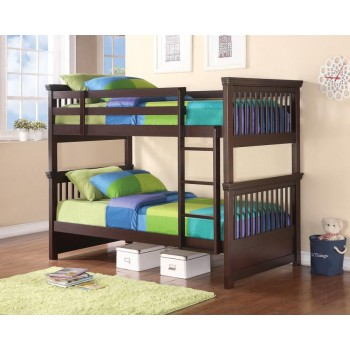 MILES COLLECTION - TWIN / TWIN BUNK BED