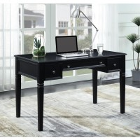 CONSTANCE COLLECTION - Transitional Black Writing Desk