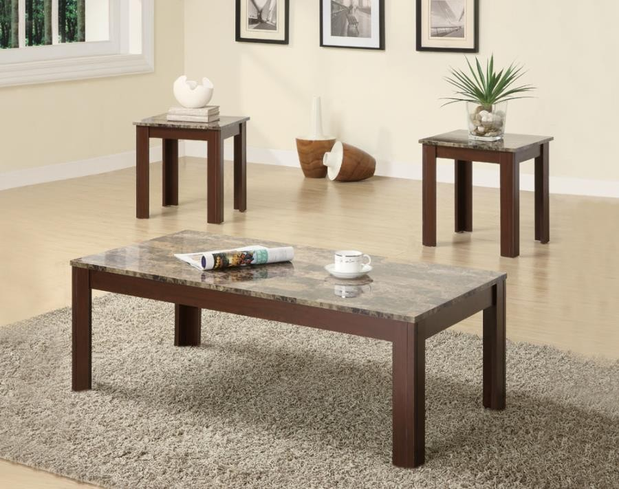 LIVING ROOM : OCCASIONAL SETS - Occasional Cocktail and End Table Set
