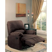 LIVING ROOM : RECLINER - Casual Chocolate Motion Recliner