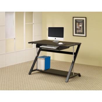 MALLET COLLECTION - Contemporary Black Computer Desk