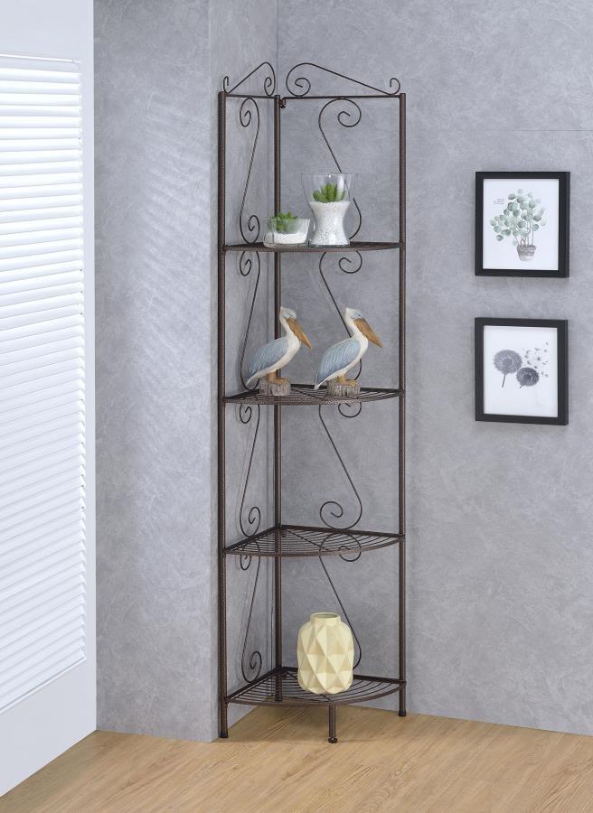HOME OFFICE : BOOKCASES - Copper Corner Bookcase