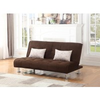 ELLWOOD COLLECTION - Ellwood Transitional Brown Sofa Bed