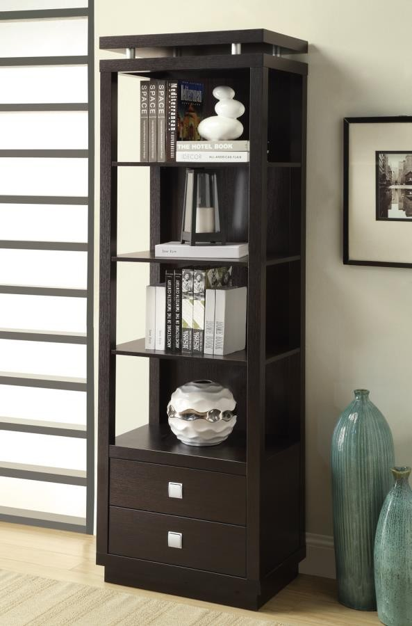 HOME OFFICE : BOOKCASES   MEDIA TOWER | 800354 | Wall Systems | Griffinu0027s  Furniture Outlet CA