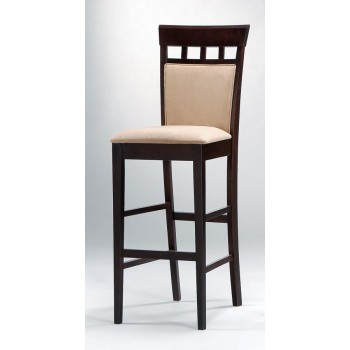 GABRIEL COLLECTION - Gabriel Cappuccino Exposed Wood Bar Stool (Pack of 2)