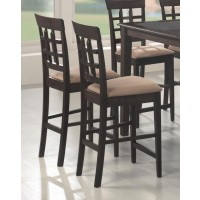 GABRIEL COLLECTION - Gabriel Cappuccino Exposed Wood Counter Stool (Pack of 2)