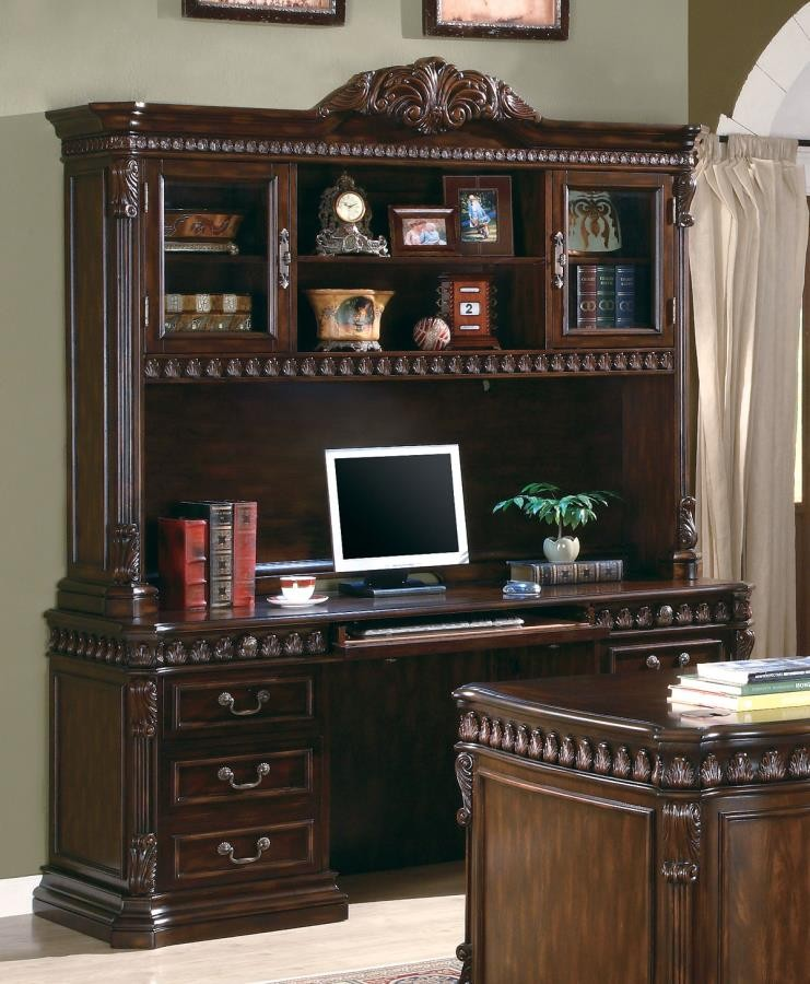 TUCKER COLLECTION - Tucker Traditional Rich Brown Hutch