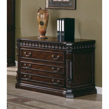 TUCKER COLLECTION - Tucker Rich Brown Three-Drawer File Cabinet