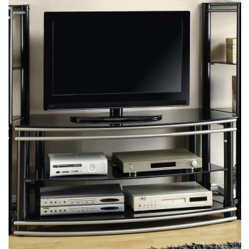 LIVING ROOM : TV CONSOLES - Contemporary Black Metal TV Console