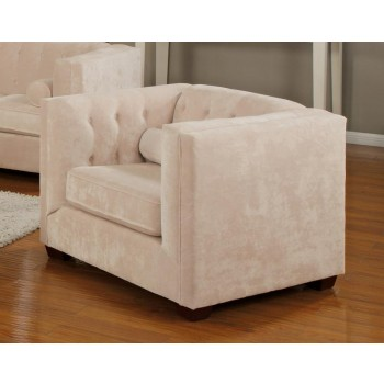 Alexis Collection - Alexis Transitional Almond Chair