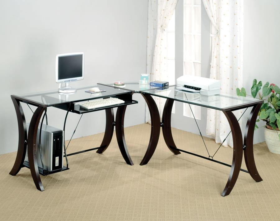MONTEREY COLLECTION - Contemporary Cappuccino Desk Set