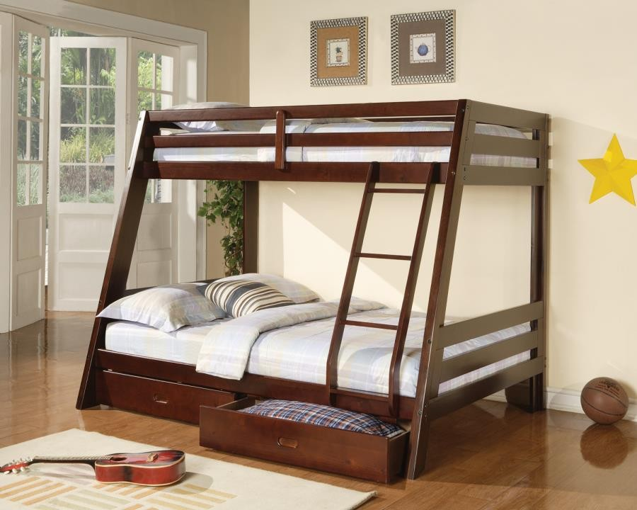 HAWKINS COLLECTION - TWIN / FULL BUNK BED
