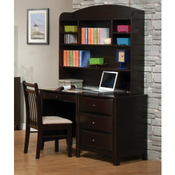 PHOENIX COLLECTION - Phoenix Transitional Cappuccino Hutch