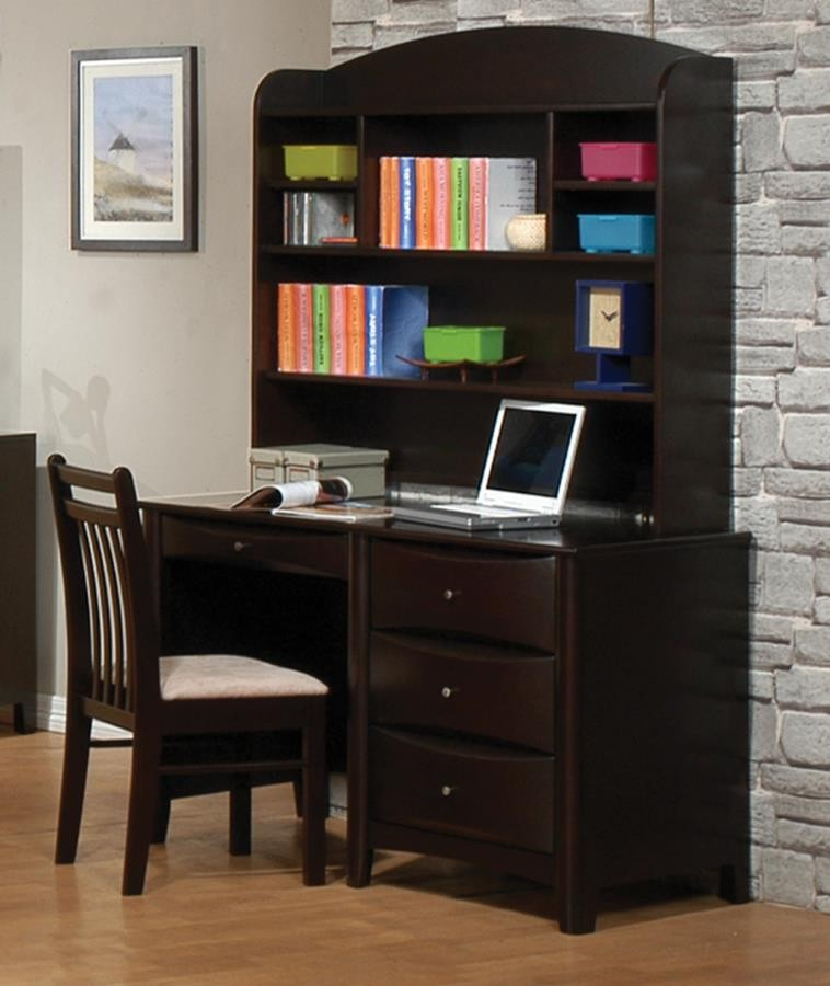 PHOENIX COLLECTION - Phoenix Transitional Cappuccino Desk