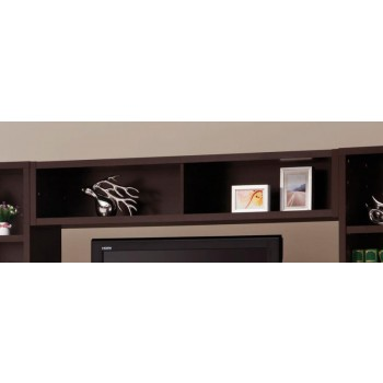 LIVING ROOM : TV CONSOLES - Contemporary Cappuccino Entertainment Unit Bridge