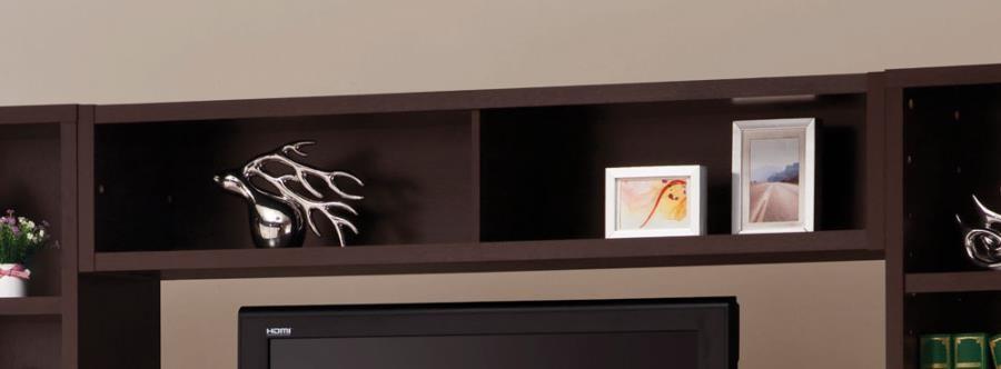 LIVING ROOM : TV CONSOLES - Contemporary Cappuccino Entertainment Unit Bridge
