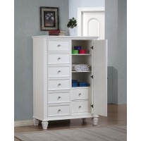 SANDY BEACH COLLECTION - Sandy Beach Door Dresser With Concealed Storage