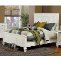 SANDY BEACH COLLECTION - Sandy Beach White Eastern King Bed