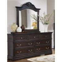 Cambridge Collection - Cambridge Arched Dresser Mirror