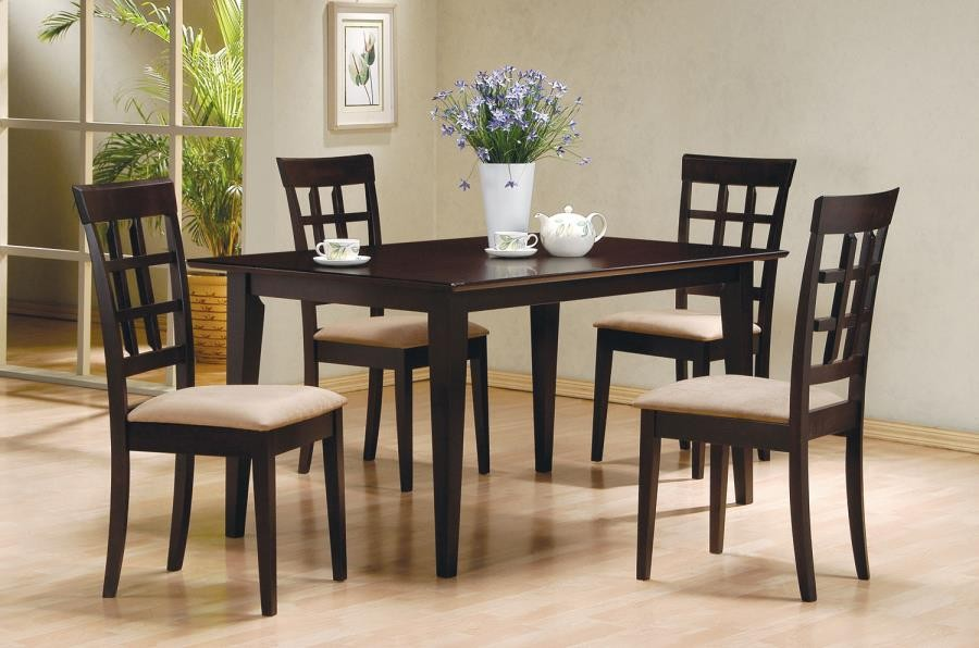 GABRIEL COLLECTION - Gabriel Cappuccino Dining Table