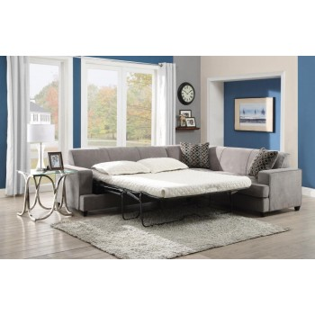 TESS SECTIONAL - Tess Casual Grey Sectional