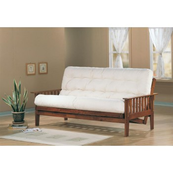 LIVING ROOM : FUTON FRAMES - Traditional Dirty Oak Futon Frame