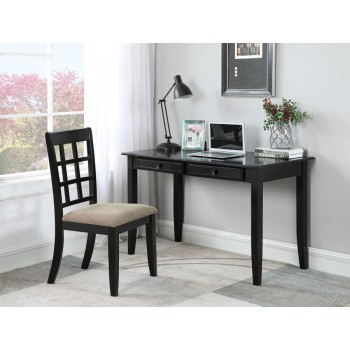 HOME OFFICE | SMALL COLLECTIONS - Casual Black Desk Set