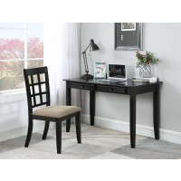 NEWTON COLLECTION - Casual Black Desk Set