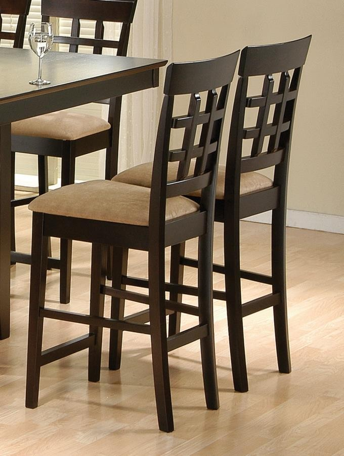 GABRIEL COLLECTION - Gabriel Chestnut Counter-Height  Chair (Pack of 2)