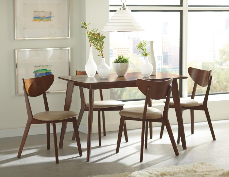 Kersey Collection Kersey Retro Chestnut Dining Table