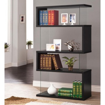 HOME OFFICE : BOOKCASES - Casual Black Bookcase