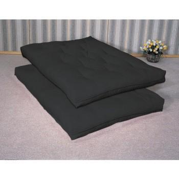 FUTON MATTRESSES - Black Premium Futon Pad