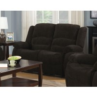 GORDON MOTION COLLECTION - Gordon Chocolate Reclining Loveseat