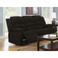 GORDON MOTION COLLECTION - Gordon Chocolate Reclining Sofa