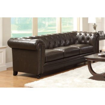 ROY COLLECTION - Roy Brown Sofa
