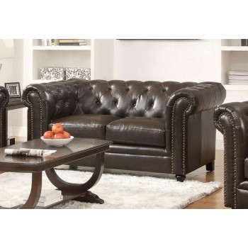 ROY COLLECTION - Roy Brown Loveseat
